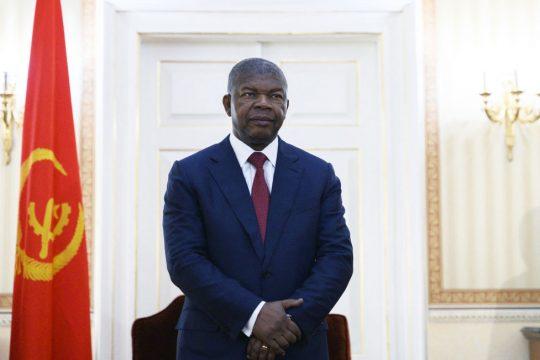 Le président angolais Joao Lourenço