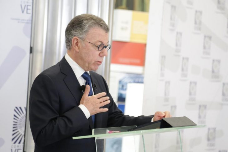 Colombia: the day when president Santos asked for forgiveness