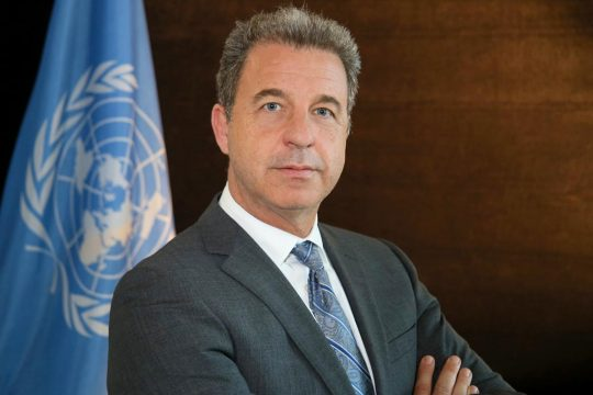 Serge Brammertz poses for the UN