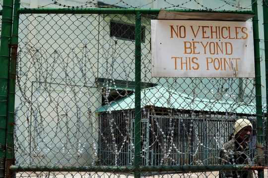 The Mahé prison in Seychelles