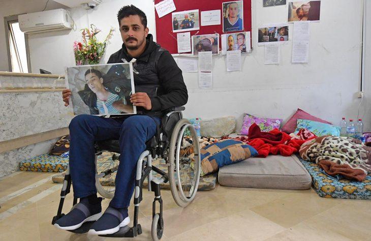 Tunisie, 10 ans après la révolution : la dignité bafouée des blessés