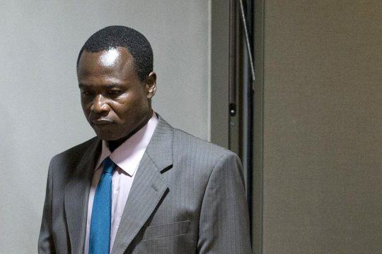 Dominic Ongwen à la Cour pénale internationale (CPI)