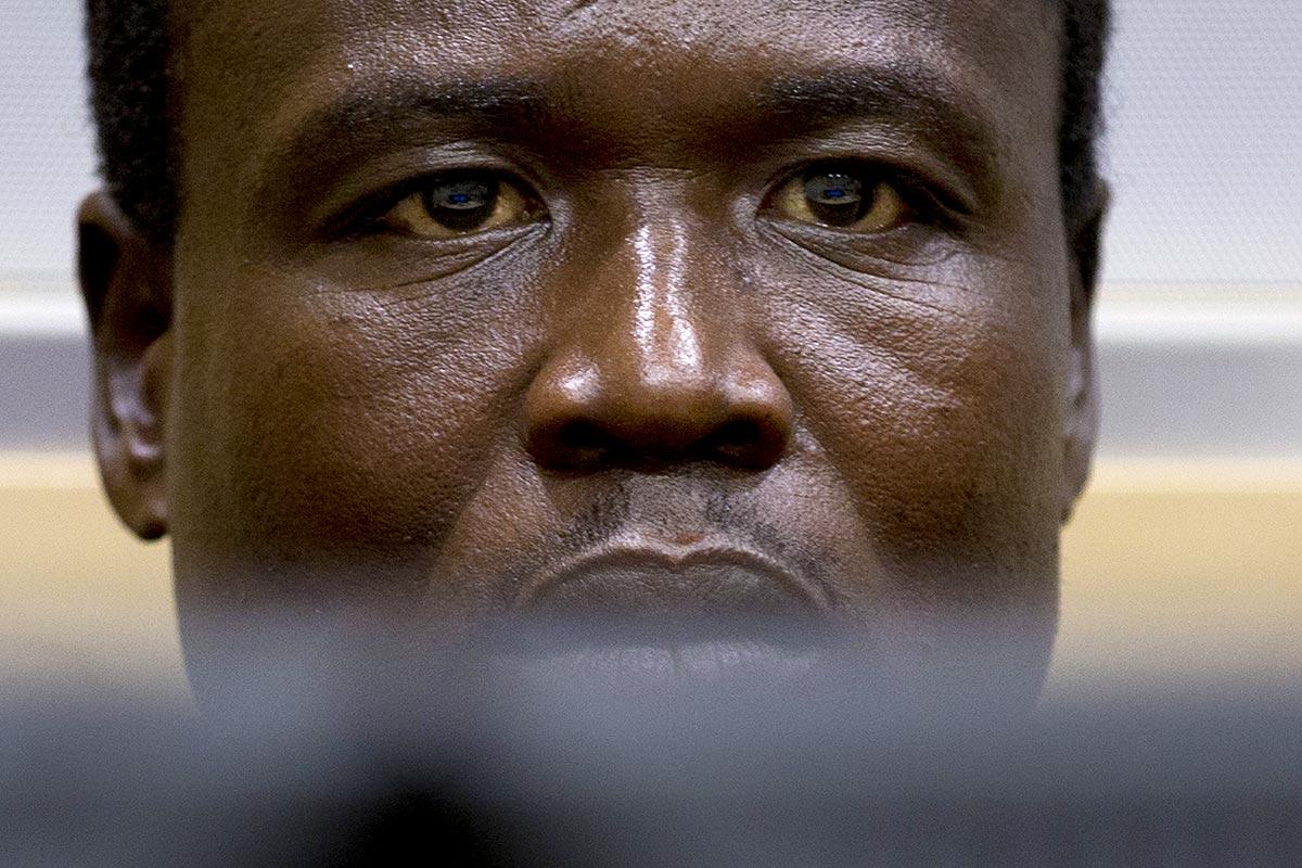 Dominic Ongwen à la Cour pénale internationale (CPI)