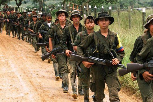 niños soldados en Colombia