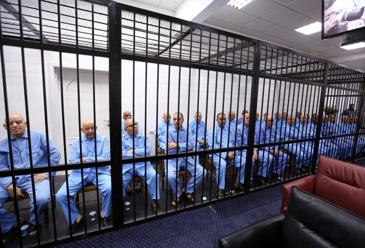 International outcry after Libya sentences Kadhafi son to death