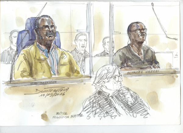 Portraits of Two Rwandan Mayors Unfold in Paris Genocide Trial