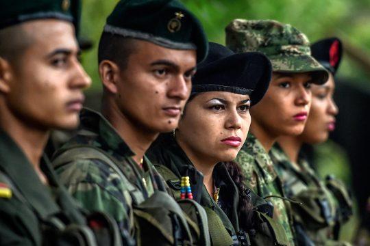 Ex combatientes de las FARC