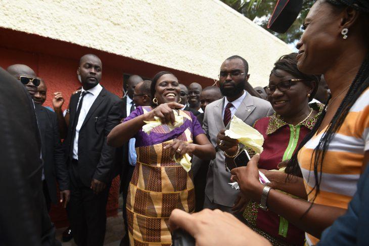 Simone Gbagbo, l'ex-«Dame de fer» ivoirienne, retrouve la liberté