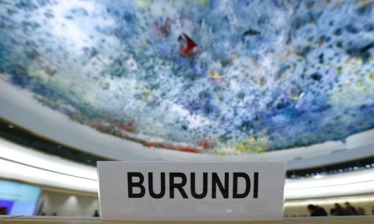 Act Swiftly to End Impunity in Burundi