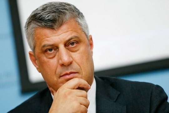 Kosovo President is accused of crimes against humanity