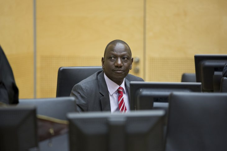La CPI met fin au procès du Kenyan Ruto