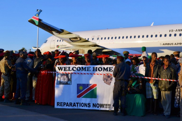 Namibians victim of genocide press for German apology